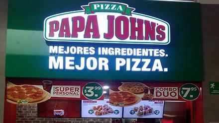 Metrocentro santa ana papa johns